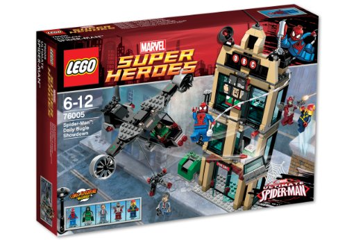 LEGO 76005 SUPER HEROES MARVEL Spider-Man: Einsatz am Daily Bugle