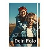 PhotoFancy® – Notizbuch mit Foto selbst gestalten – Tagebuch personalisieren und bedrucken (Format: DIN A4)