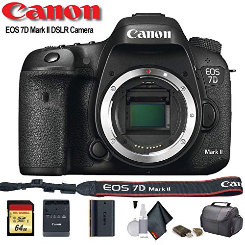 Canon EOS 7D Mark II DSLR Camera (International Model) (9128B002) - Starter Bundle