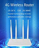 LT210T 4G LTE WiFi Router Hotspot CAT4 300Mbps SIM Card CPE USA Full Band
