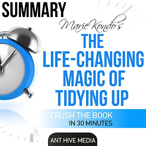 Marie Kondo's The Life Changing Magic of Tidying Up Summary audiobook cover art