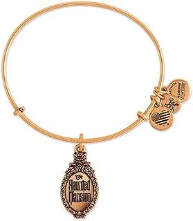 Disney Parks Alex and ANI Haunted Mansion Bangle Bracelet (Gold Bronze)