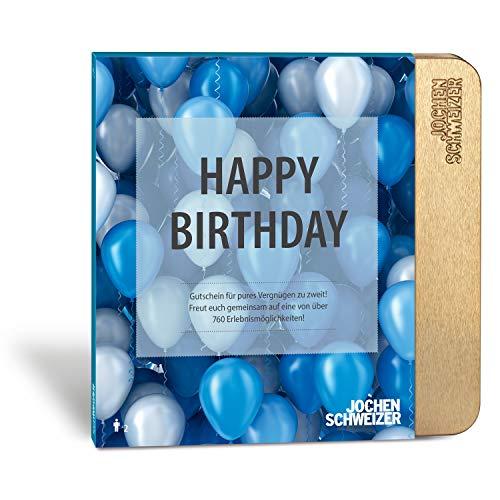 Jochen Schweizer Geschenkgutschein: Erlebnis-Box 'Happy Birthday'