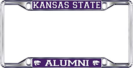 Elite Fan Shop NCAA License Plate Frame Alumni