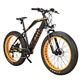 MZZK Electric Bike with 500W Motor,Shimano 7-Speed Powerful E-Bike with 48V 13Ah Lithium Battery Fat...