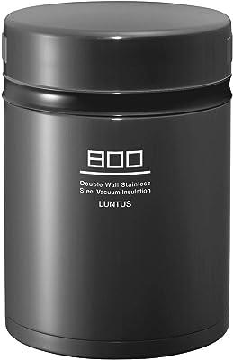 アスベル 保温ランチジャー グレー 800ml ランタスBE ステンレス保温ランチボックス HLB-B800