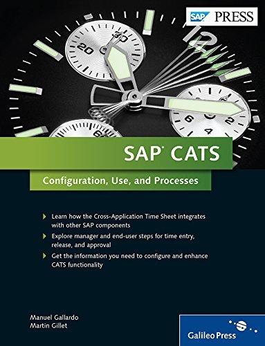 SAP CATS (Cross-Application Timesheets): Comprehensive Guide by Manuel Gallardo Martin Gillet(2014-12-05)