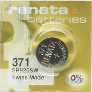 Pile Montre Renata MP-E 371 SR920SW, 60% Plus puissante, 1 Pile