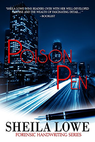 Book: Poison Pen - A Forensic Handwriting Mystery by Sheila Lowe