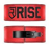 RISE(ライズ)トレーニングベルト 筋トレ パワー リフティング ベルト レバーアクションベルト (red10mm, S)