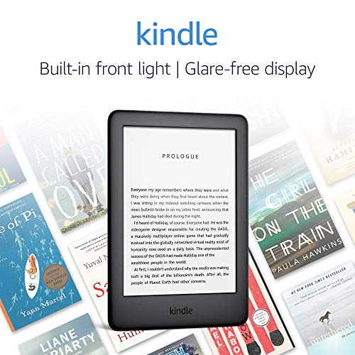All-new Kindle - Now with a Built-in Front Light - Black - Includes Special Offers 7
