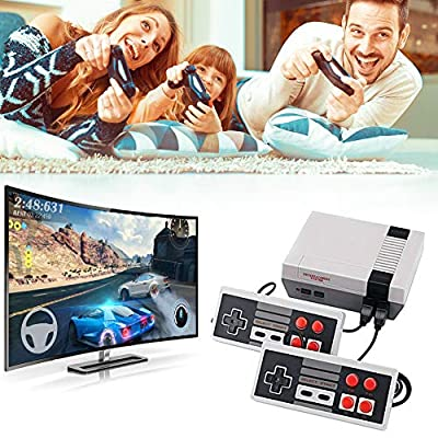 Plug & Play Classic Game Handheld Console,Retro Classic Game Console Built-in 620 Game Video Game Console,Handheld Game Player Console for Family TV Video Good Gift for Kids and Family from FatCat Wall Graphics