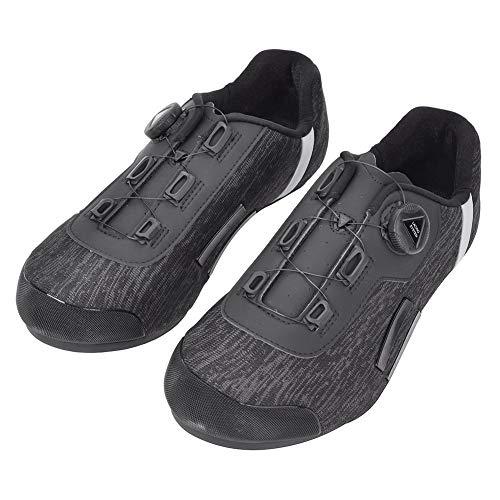 Keenso Ademende fietsschoenen, anti-slip paardrijschoenen, zwart, anti-slip straatfietsschoenen