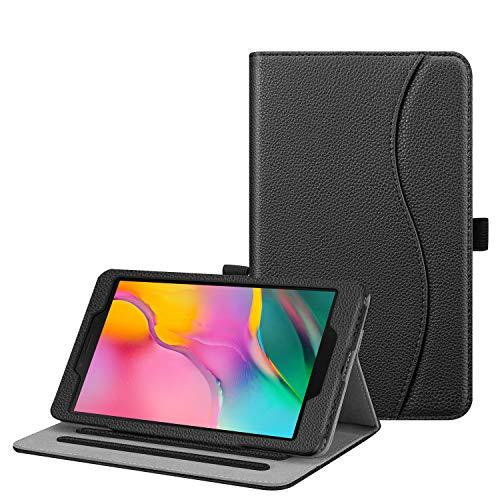 custodie tablet 8 pollici FINTIE Custodia per Samsung Galaxy Tab A 8.0 2019 SM-T290 / SM-T295 - [Multi-angli] Slim Fit Stand Cover Protettiva Case