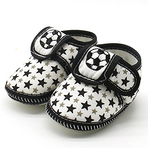 LIJUCH Newborn Infant Baby Star Girls Boys Soft Sole Prewalker Warm Winter Boots Casual Flats Shoes Christmas