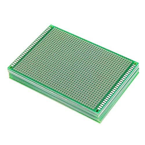 FYYONG FR-4, 2,54 mm de un lado Prototpe placa de circuito impreso PCB Herramientas for trabajar la madera