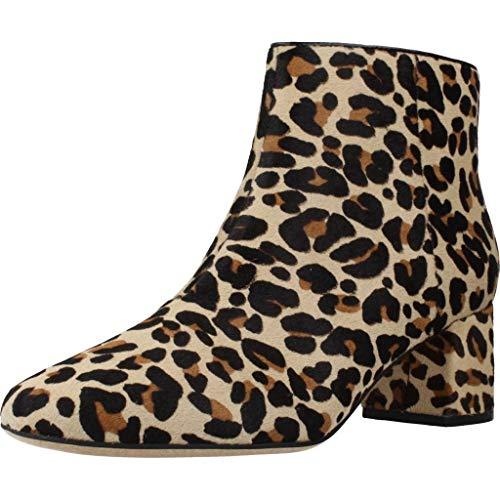 Clarks Damen Sheer Flora Chelsea Boots, Mehrfarbig (Leopard Print Leopard Print), 41 EU