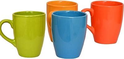 KITTENS Ceramic Coffee Mugs ( Set of 4 Multicolour, Large)