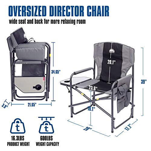 Coastrail Outdoor Oversized Director Chair