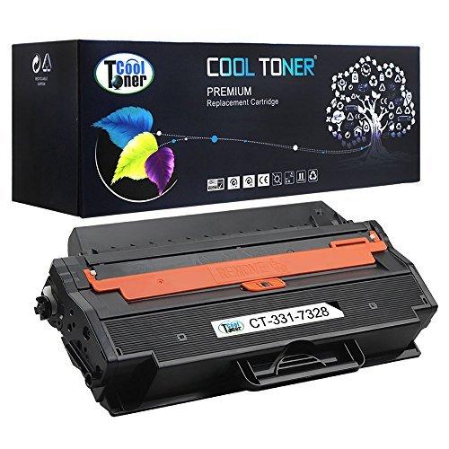 Cool Toner Dell 1260 Black Compatible Toner Cartridge 331-7328 (RWXNT) For Dell B1260dn & B1265dnf Laser Printer