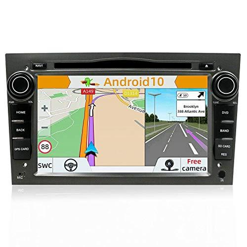 YUNTX Android 10 Autoradio per Opel Astra/Vectra/Zafira | 2 DIN | Fotocamera posteriore e Canbus GRATUITI | 7 Pollici | Supporta Mirror-link/Controllo del volante /4G/WiFi/Bluetooth/DAB+