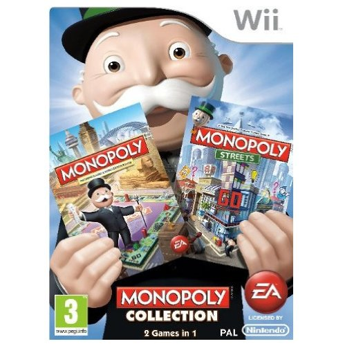 Monopoly Collection (Wii) by Electronic Arts