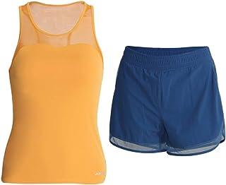 Yoga Wear Women's Sport Suits Mesh Design Sweatsuits Vest Yoga Jogging Tracksuits