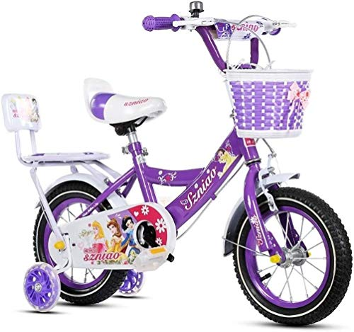 """Fahrrad Kinder Fahrrad, Kinderfahrrad 2-4years, Kinder Tricycle, 12"""", Farbe: 2 (Color : 1)"""
