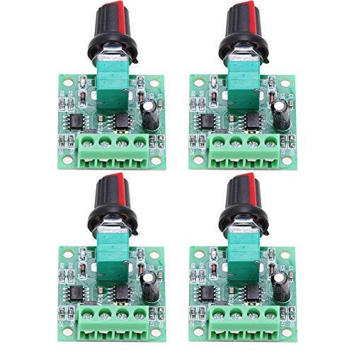 Controlador de cepillo de control de velocidad PWM portátil y duradero de repuesto para scooter eléctrico bicicleta 4 piezas