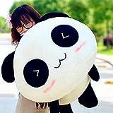 Steellwingsf Kawaii mignon poupée en peluche jouet Animal Panda géant d'oreiller doux en peluche Bolster Cadeau, comme sur l'image, 45 cm