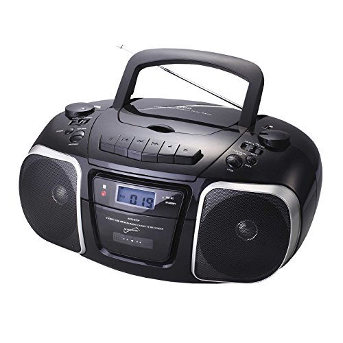 Supersonic SC745 CD/MP3 Boombox with USB (Discontinued by Manufacturer)