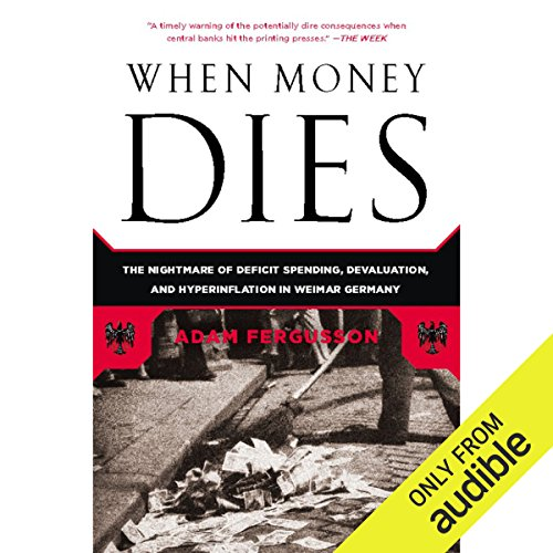 When Money Dies audiobook cover art