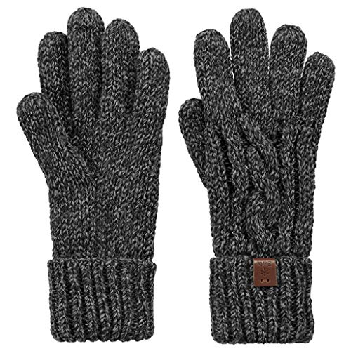Barts 15-0000000401 Gants, Noir (Schwarz), Fabricant: Taille Unique Homme