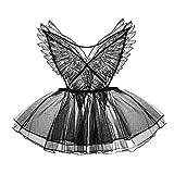 Kawaii Disfraces para mujer Lindo vestido de baile de malla Conjunto de lencería de encaje Lolita Princesa Cosplay Disfraces - negro - Talla única