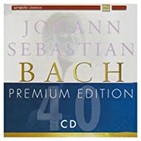 PREMIUM EDITION 40 CD BOX SET by BACH