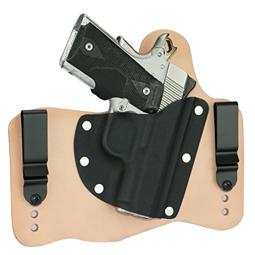 FoxX Holsters Kimber 1911 Ultra Carry II, Ultra TLE II in The Waist Band Hybrid Holster (Natural/Tan)