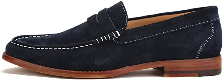 Men's shoes fashion business casual trend line  British fashion shoes