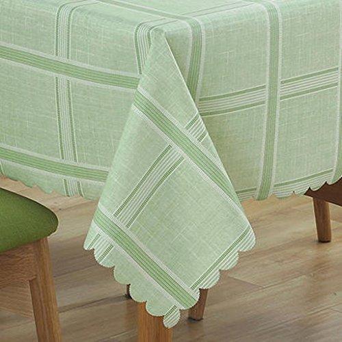Nappe restaurant bureau ordinateur de bureau pad nappe couleur unie PVC nappe étanche huile anti-chaude lavage (Size : 110 * 160cm)