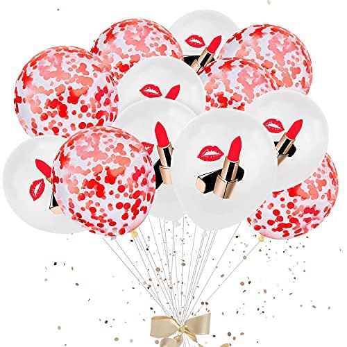 Addio al Nubilato Decorazione,40 Pezzi Palloncini in Lattice Coriandoli Set di Bianchi e Rosa Matrimoni Compleanno Decorazioni per Feste, Compleanno, San Valentino, Matrimonio,Matrimonio Anniversario