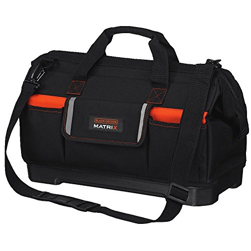 BLACKDECKER Tool Tote Bag for Matrix System WideMouth BDCMTSB