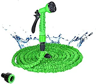 TMYQM 25-200FT Hot Expandable Magic Flexible Garden Water Hose For Car Hose Pipe Plastic Hoses garden set to Watering with...