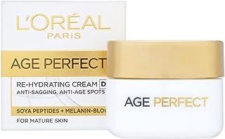 2 x L'Oreal Paris Age Perfect Re-Hydrating Day Cream 50ml
