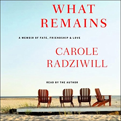 What Remains audiobook cover art