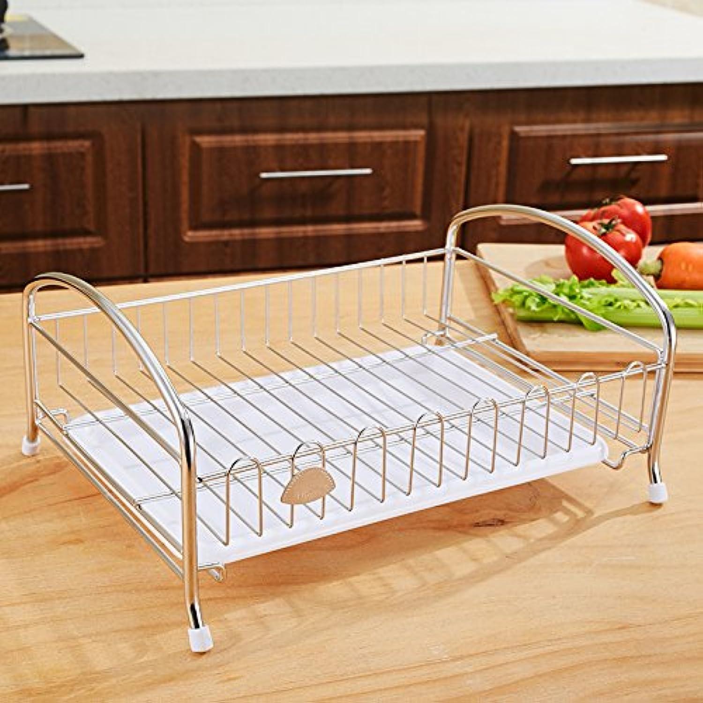 MLGG Dish-Stainless Avoue Acier Lek Yuen Rack De l'eau Panier De Fruits Cup Holder