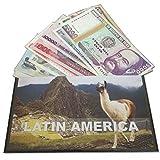 IMPACTO COLECCIONABLES Billetes del Mundo - Colección de Billetes - 12 Billetes Diferentes de Latinoamérica