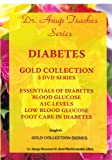 Anup, A: Diabetes Gold Collection - 5-DVD Set