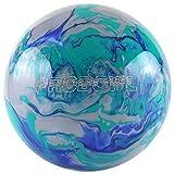 Pro Bowl Boule de bowling en polyester pour débutants et professionnels, bleu/vert, 8 LBS