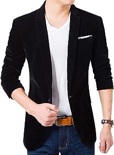 c686044f984 Men s Blazer Jacket Corduroy Sport Coat Smart Formal Dinner Cotton Jacket  Slim Fit Two Button Notch