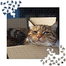 Custom Personalized Jigsaw Puzzle with Your Personal Square Photo or Art - 650 Pieces
