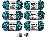 Bernat Blanket 6 Pack (Mallard Wool)